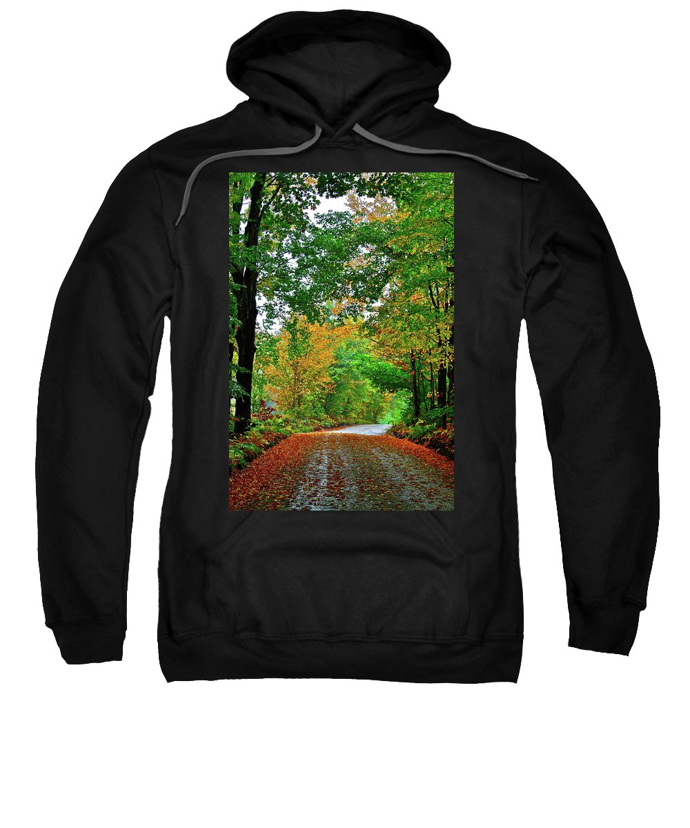 Country Sweatshirt featuring the photograph God's Confetti by Diana Hatcher
