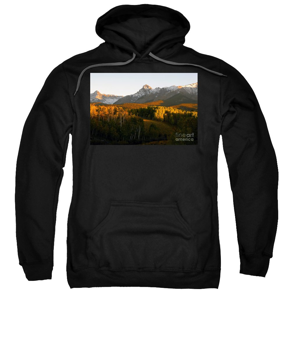 Landscape Sweatshirt featuring the photograph God's Country by David Lee Thompson