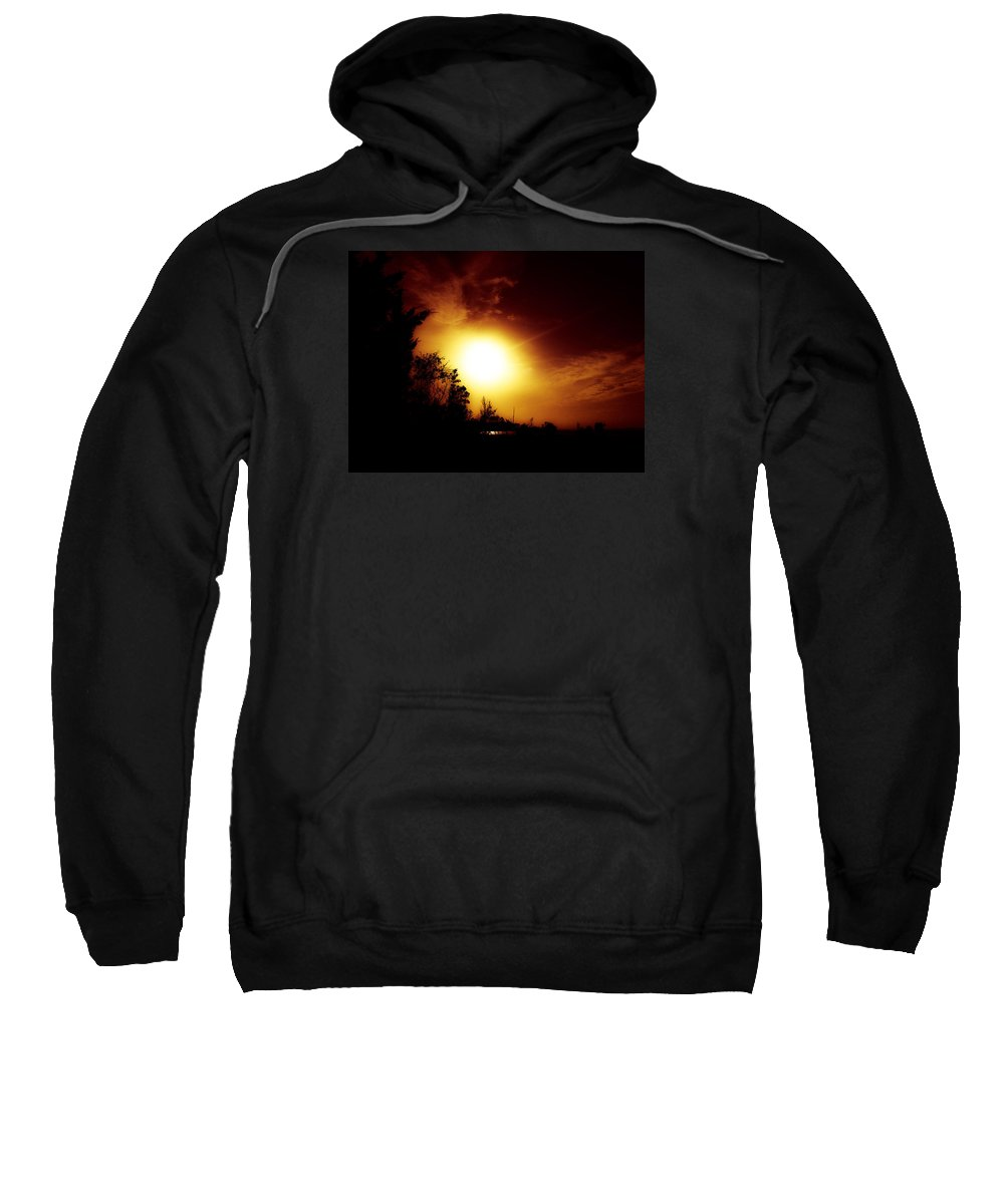 Sun Sweatshirt featuring the photograph God's Creations.. by Lewis Gilbert