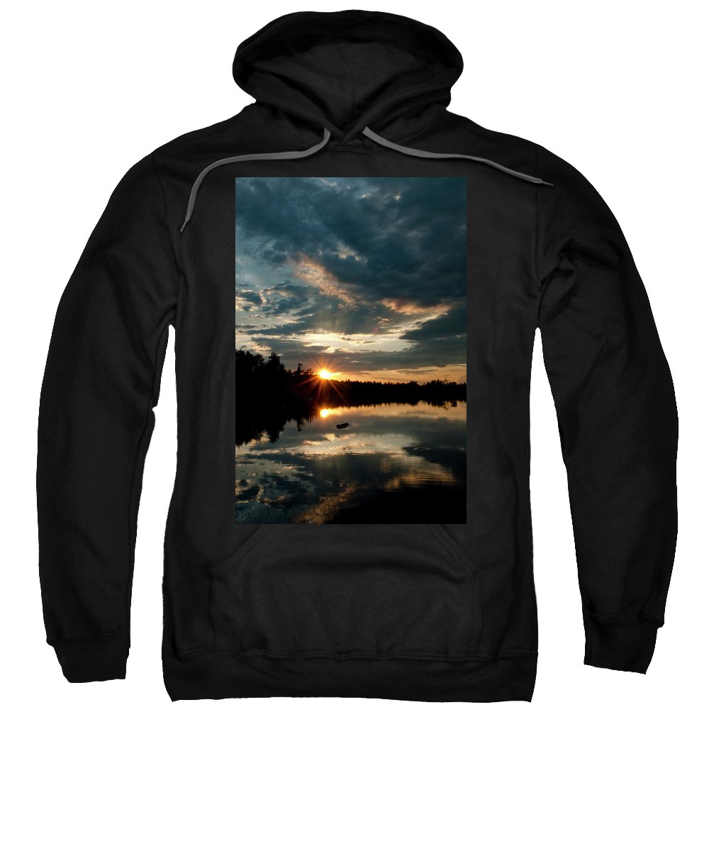 Candia Sweatshirt featuring the photograph Going Going by Greg Fortier