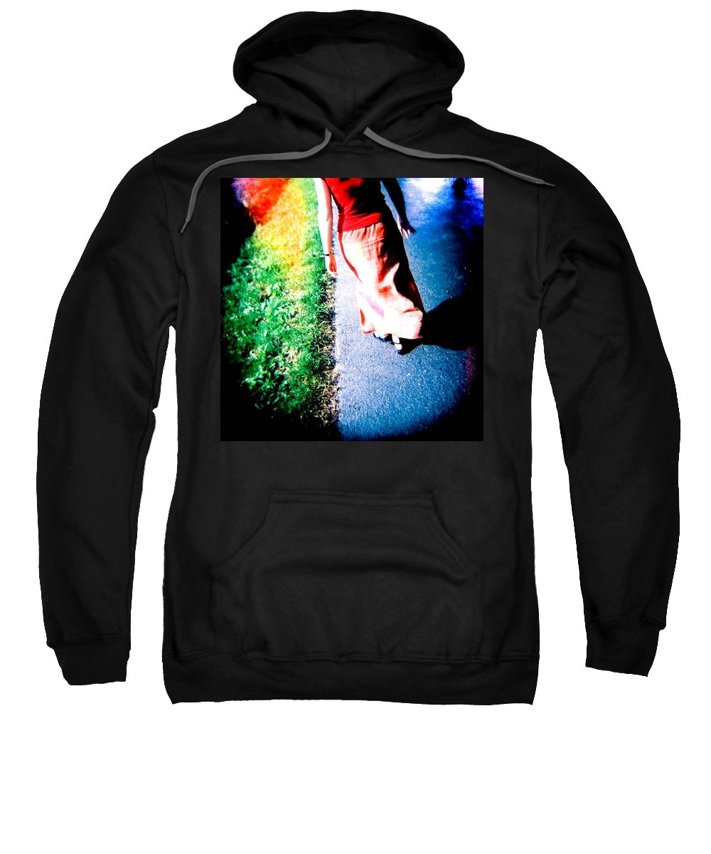 Color Photograph Holga Sweatshirt featuring the photograph Gone by Olivier De Rycke