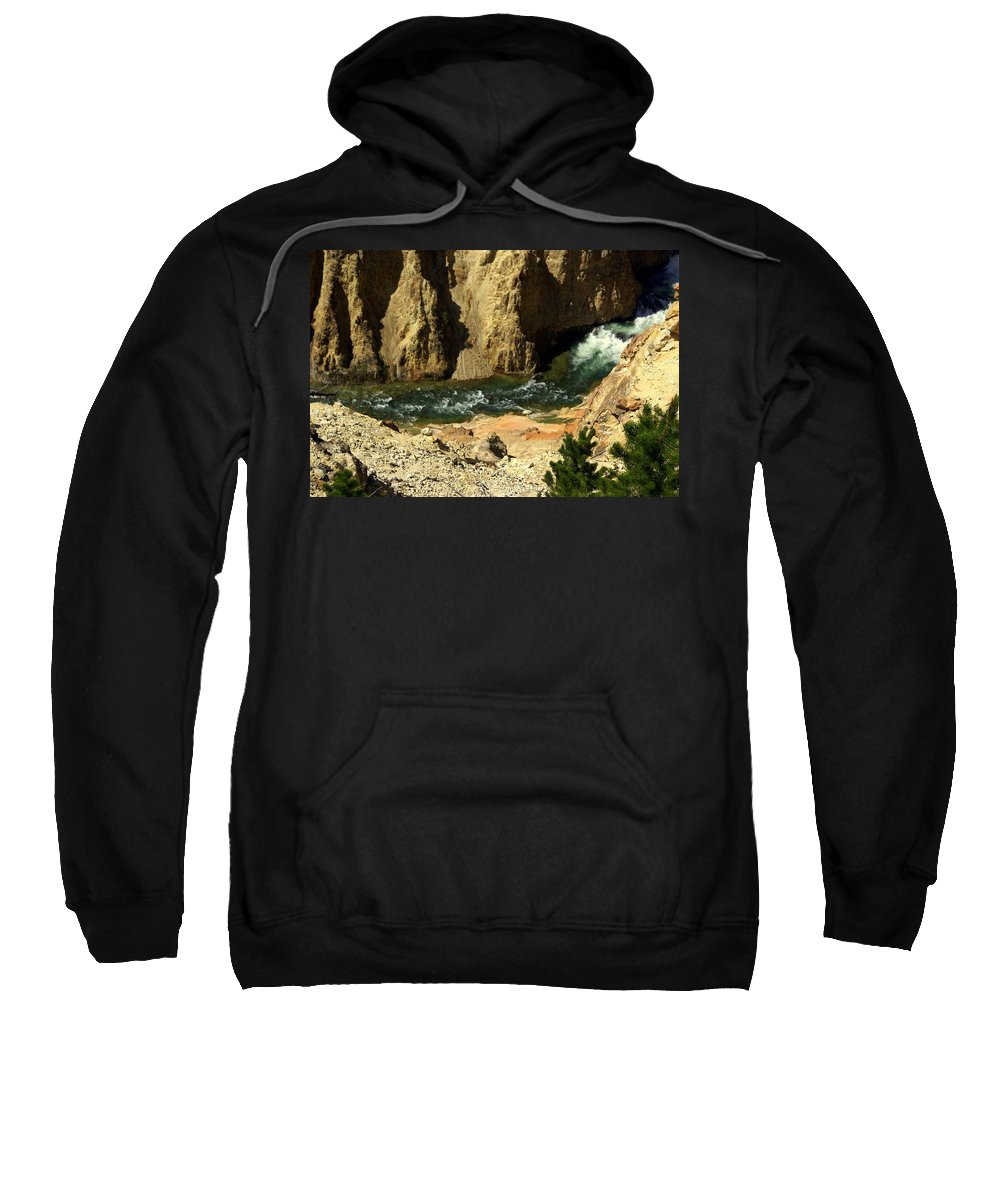 Yellowstone National Park Sweatshirt featuring the photograph Grand Canyon Of The Yellowstone 3 by Marty Koch