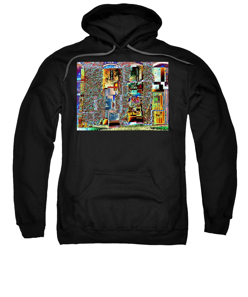 Seattle Sweatshirt featuring the photograph Grand Central Bakery 1 by Tim Allen
