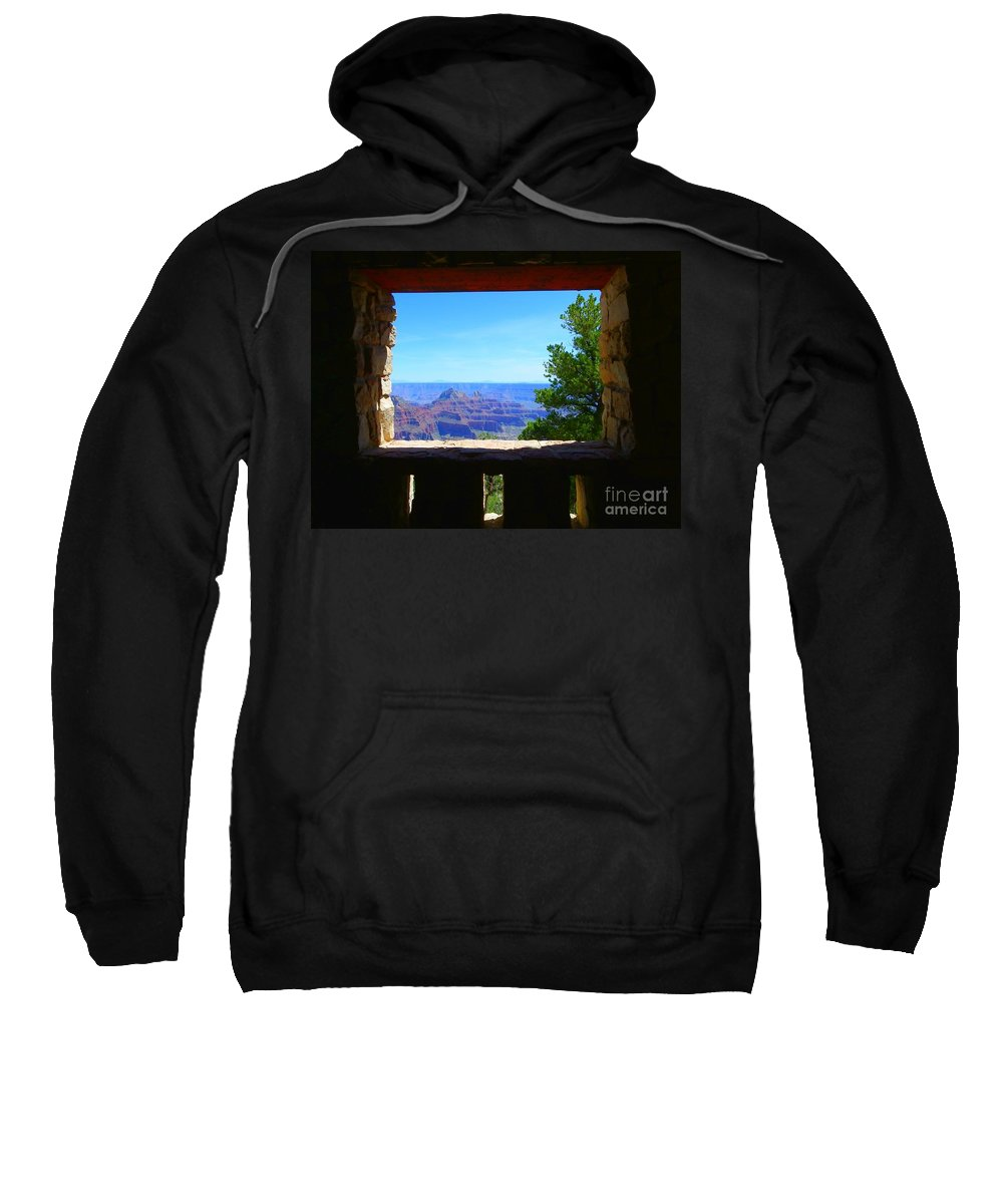 Grand Canyon Sweatshirt featuring the photograph Grand Picture by Charleen Treasures
