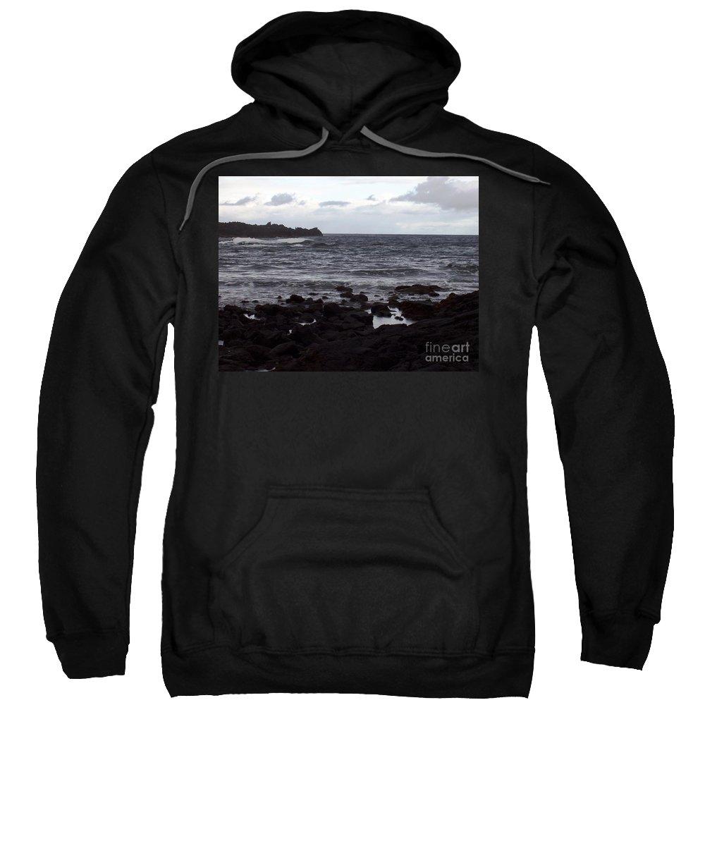 Water Sweatshirt featuring the photograph Grayscale by Deborah Crew-Johnson