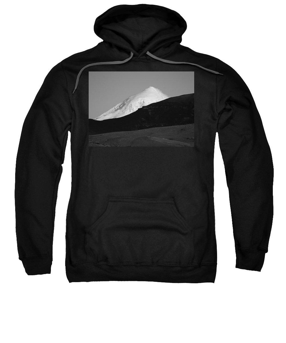 Argentina Sweatshirt featuring the photograph Grayscale by Osvaldo Hamer
