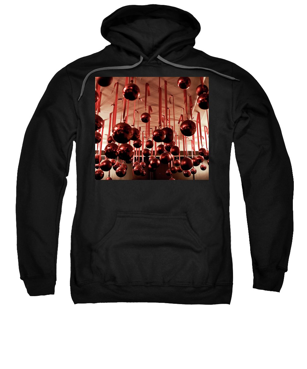 New York City Sweatshirt featuring the photograph Great Balls Of Macy's by Lorraine Devon Wilke