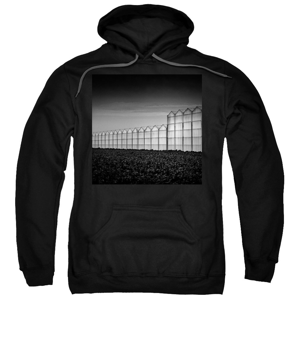 Greenhouse Sweatshirt featuring the photograph Greenhouse by Dave Bowman