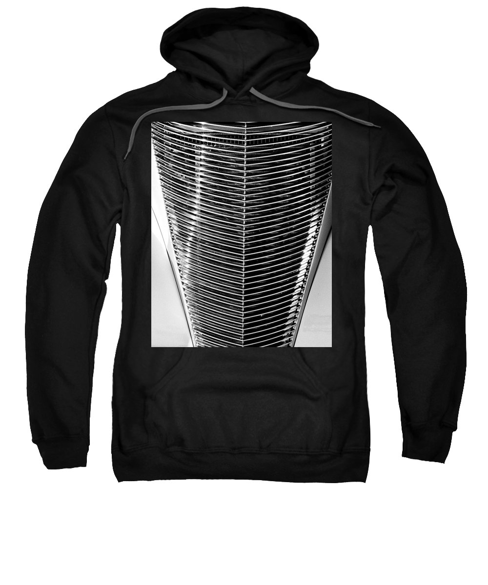 Vintage Car Sweatshirt featuring the photograph Grill by William Dey