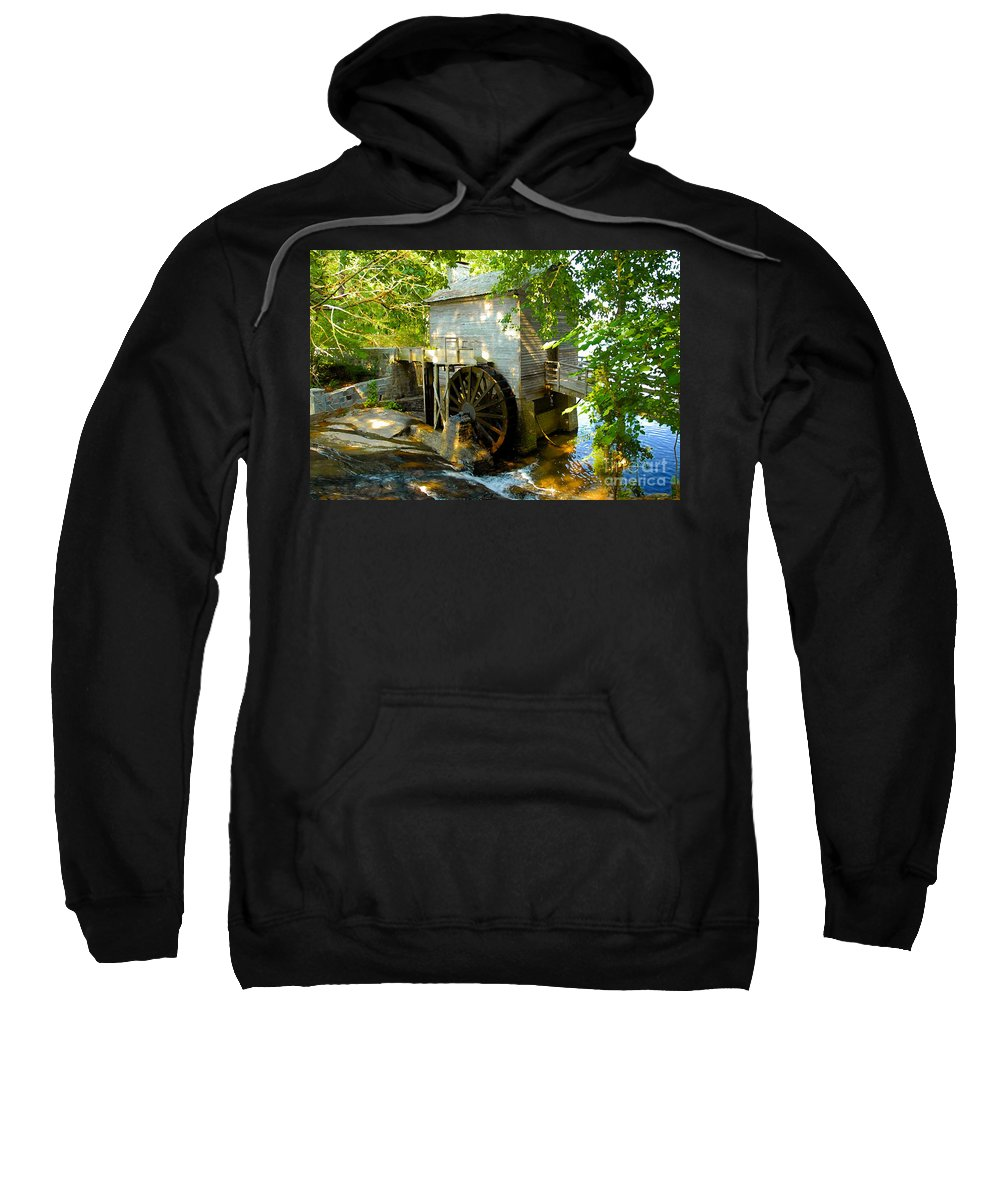 Grist Mill Sweatshirt featuring the photograph Grist Mill by David Lee Thompson
