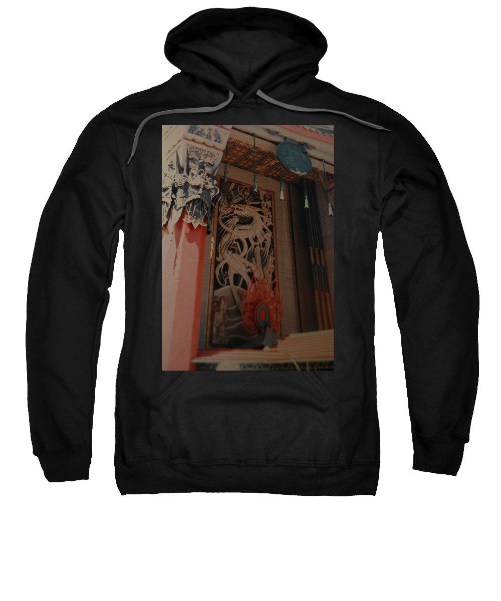 Grumanns Chinese Theater Sweatshirt featuring the photograph Grumanns Chinese Theater by Rob Hans