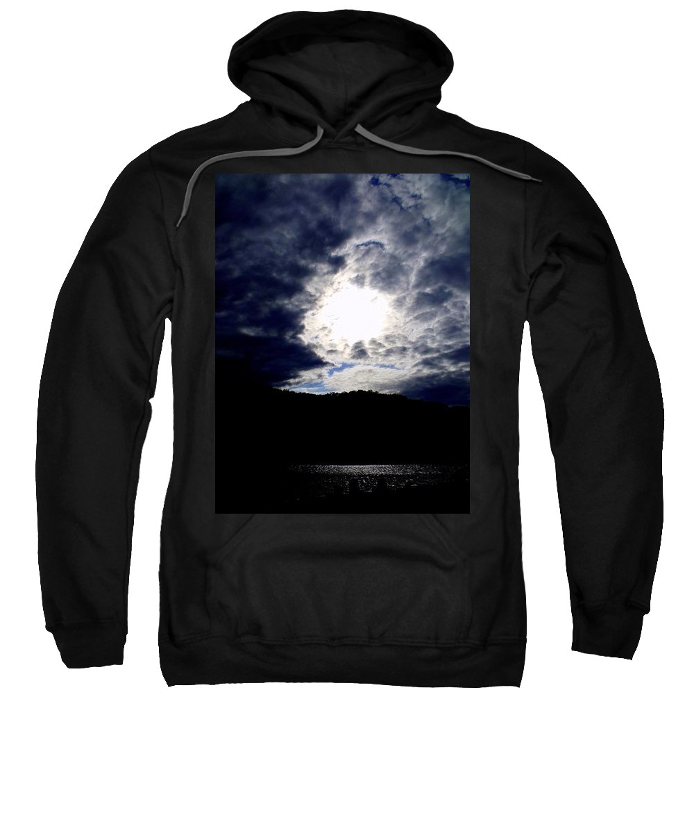 Sky Sweatshirt featuring the photograph Guardian Of The Portal by Ed Smith