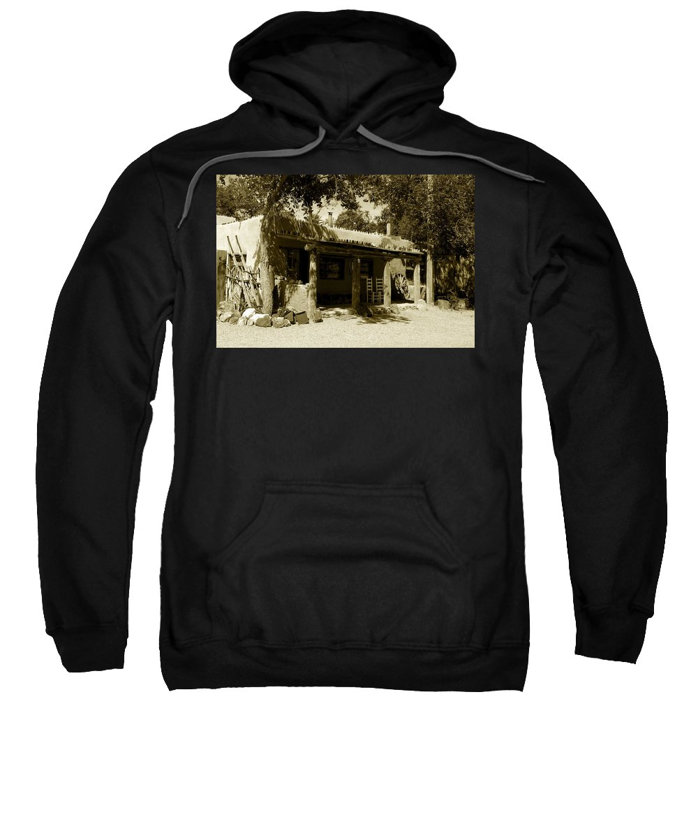 Hacienda Sweatshirt featuring the photograph Hacienda by David Lee Thompson