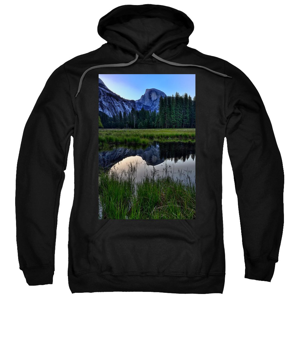 Half Dome Sweatshirt featuring the photograph Half Dome At Sunrise by Rick Berk