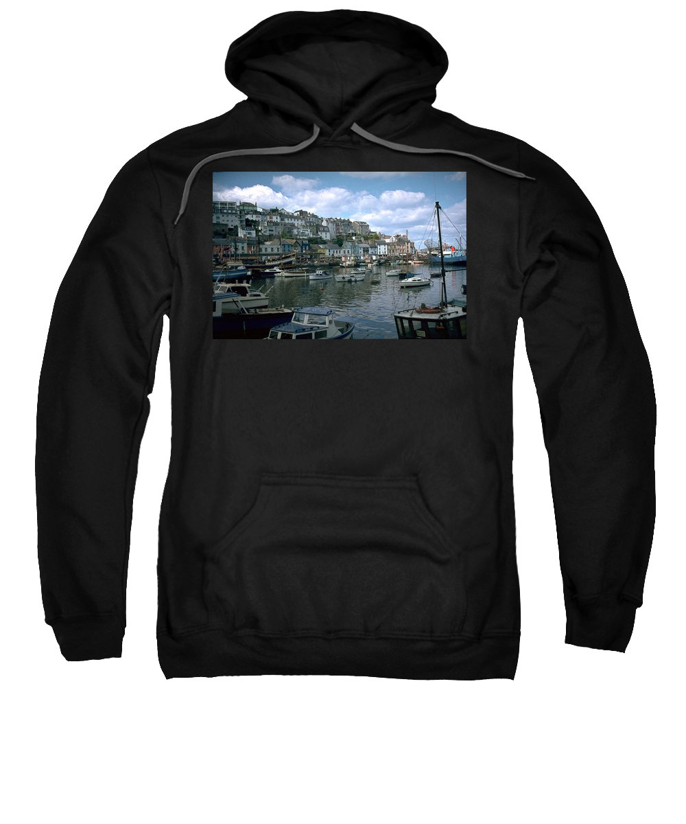 Great Britain Sweatshirt featuring the photograph Harbor by Flavia Westerwelle