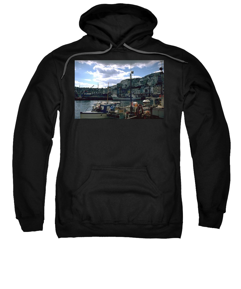 Great Britain Sweatshirt featuring the photograph Harbor II by Flavia Westerwelle
