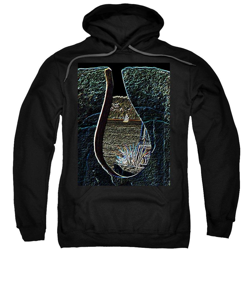 Bremerton Sweatshirt featuring the photograph Harborside Fountain Park Bremerton Wa 2 by Tim Allen