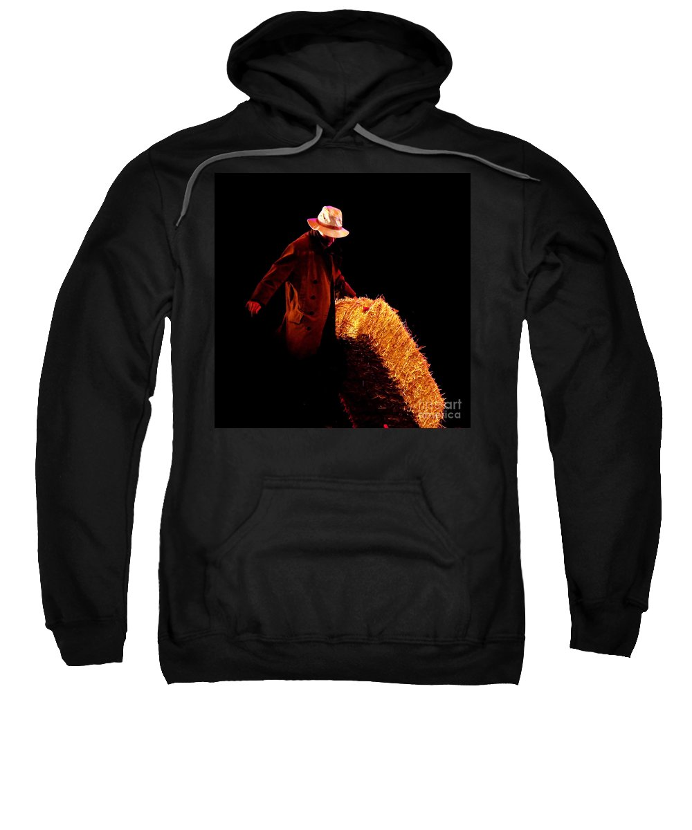Clay Sweatshirt featuring the photograph Hard Work by Clayton Bruster