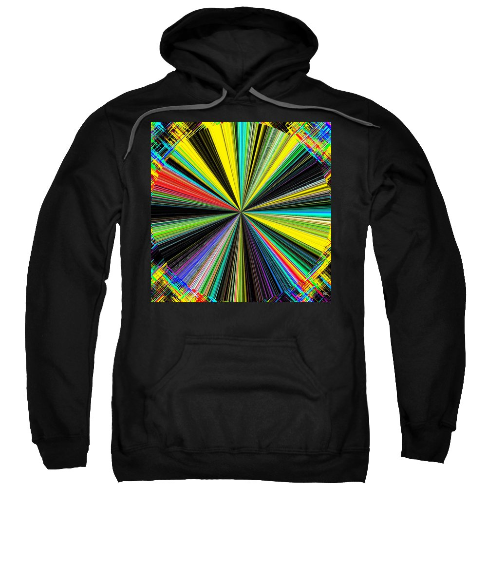 Abstract Sweatshirt featuring the digital art Harmony 28 by Will Borden