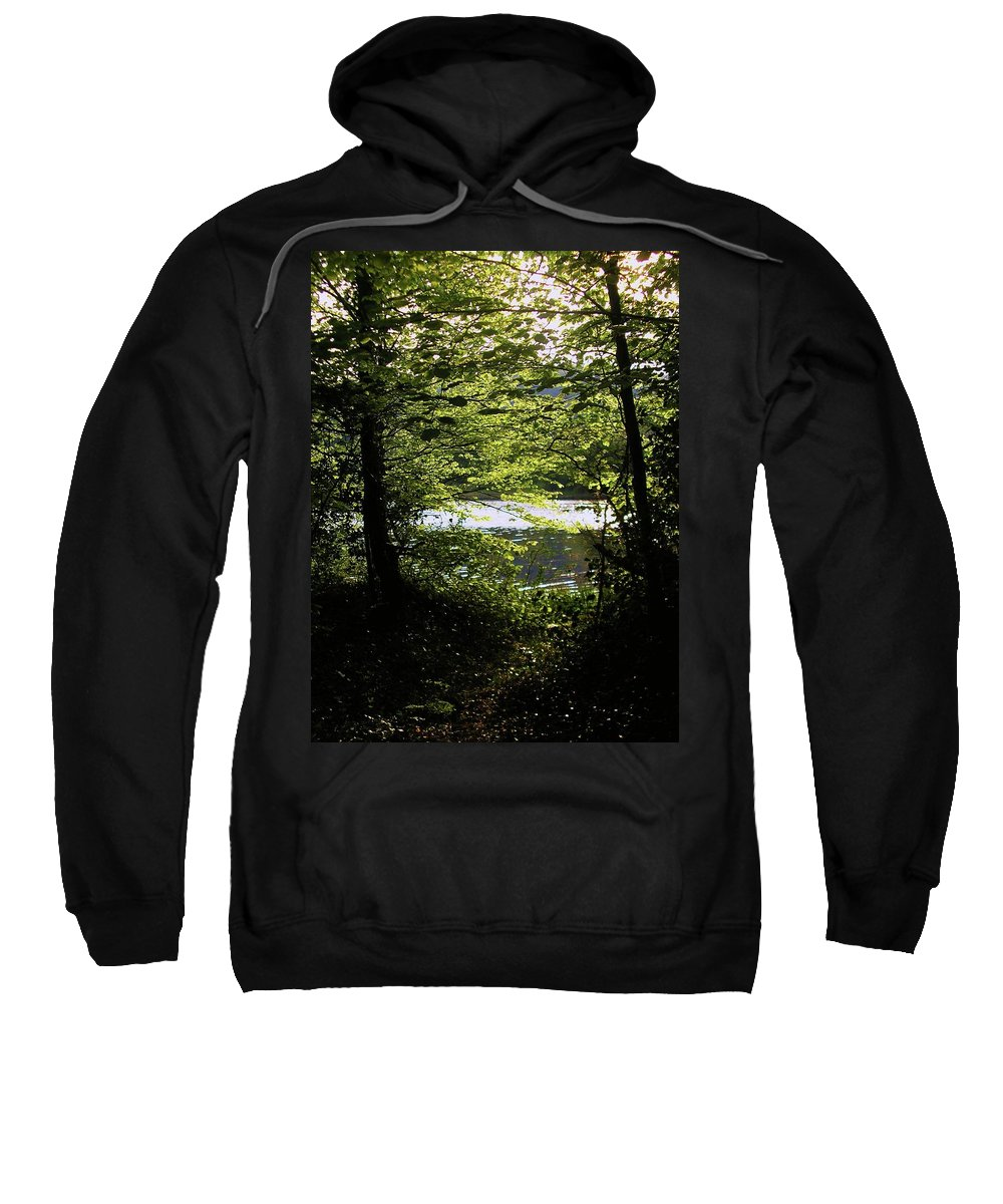 Landscape Sweatshirt featuring the photograph Hazelwood Co. Sligo Ireland. by Louise Macarthur Art and Photography