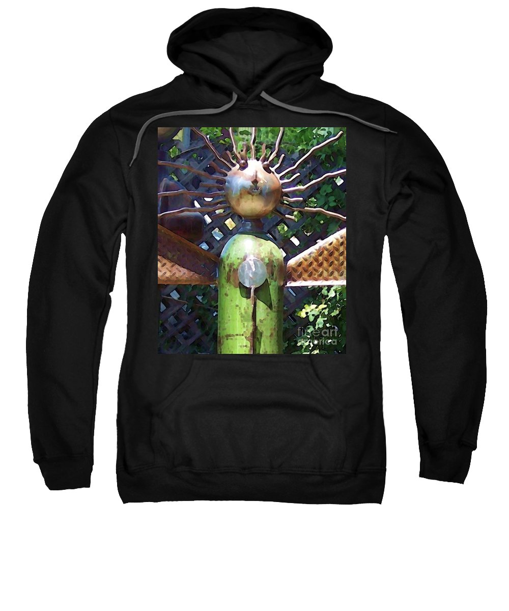 Sculpture Sweatshirt featuring the photograph Head For Detail by Debbi Granruth