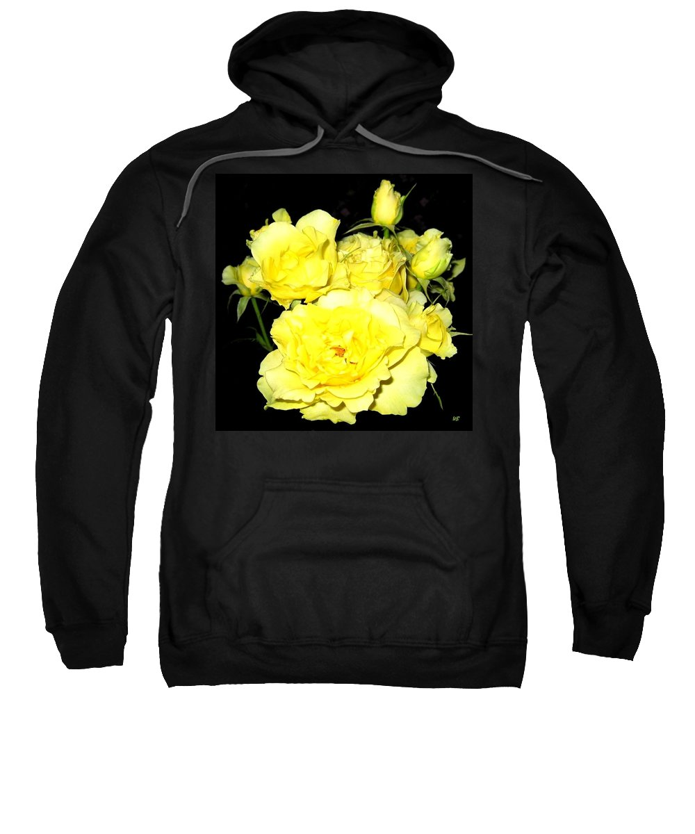 Roses Sweatshirt featuring the photograph Heaven Scent by Will Borden