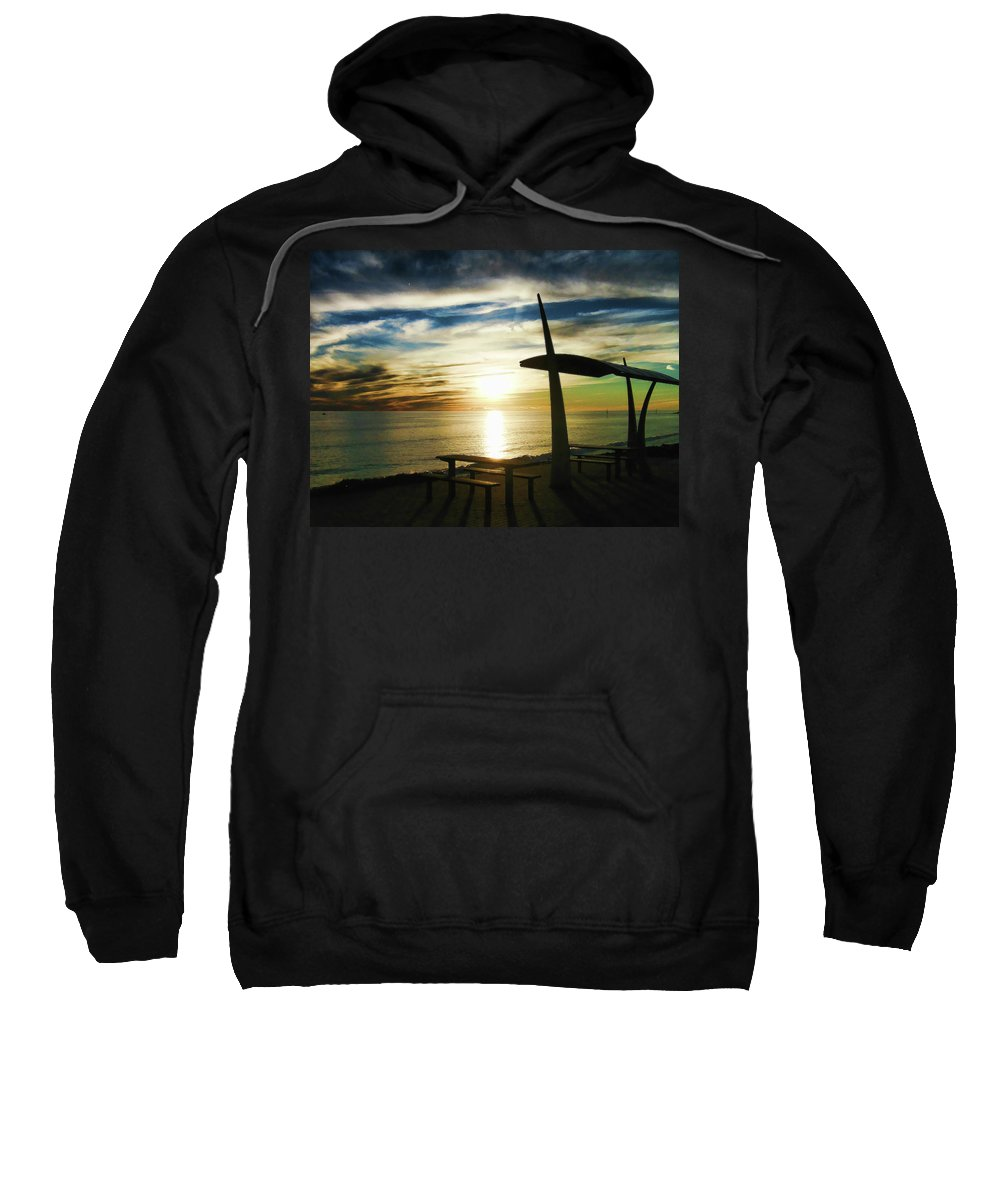 South Australia Sweatshirt featuring the photograph Heavenly Dinner Table by Douglas Barnard