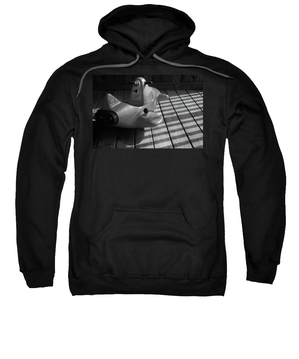 Chariot Sweatshirt featuring the photograph Her Chariot Awaits by Lyle Hatch