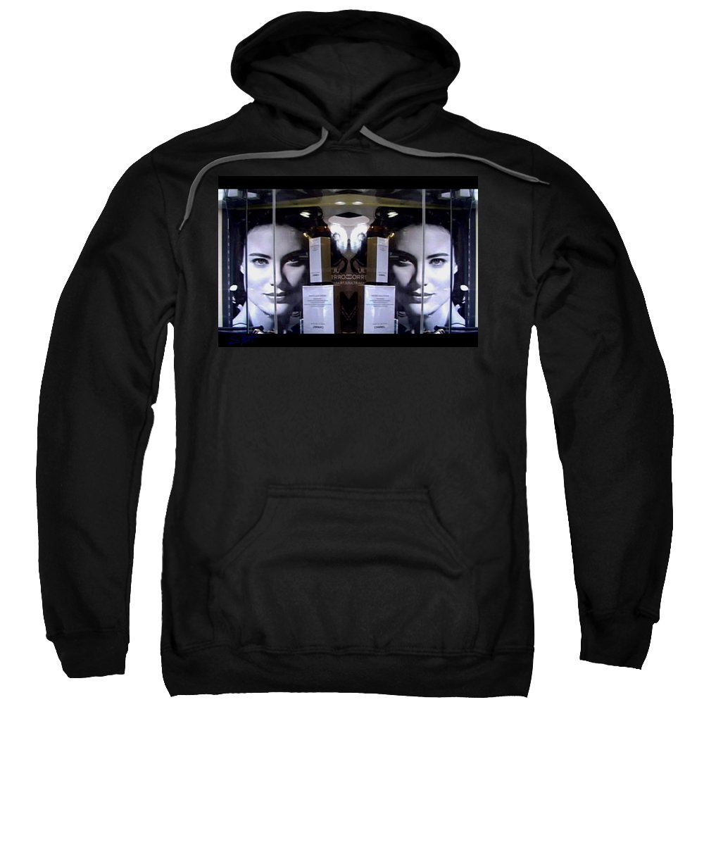 Dream Sweatshirt featuring the photograph Here by Charles Stuart