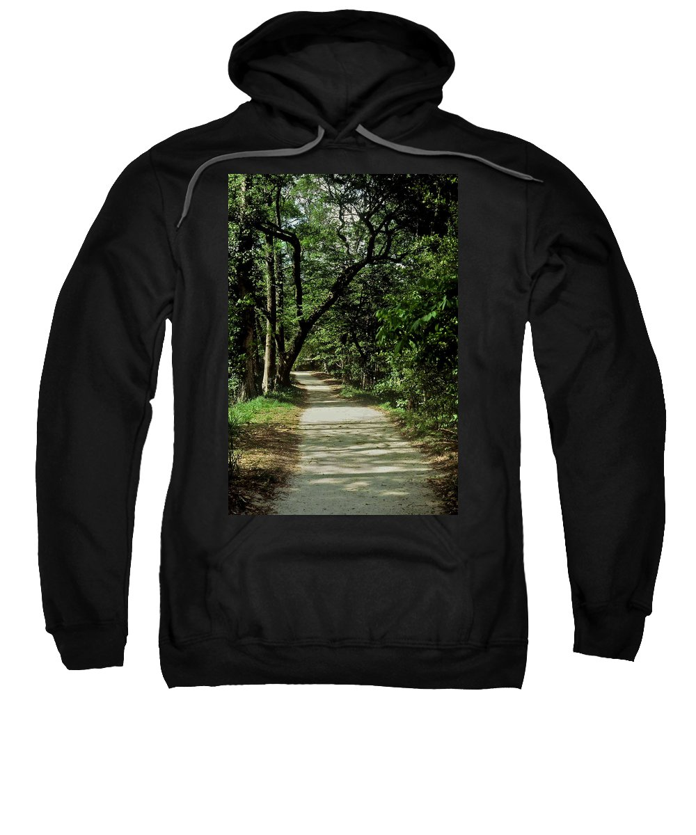 Path Sweatshirt featuring the photograph Hidden Path by Gary Wonning