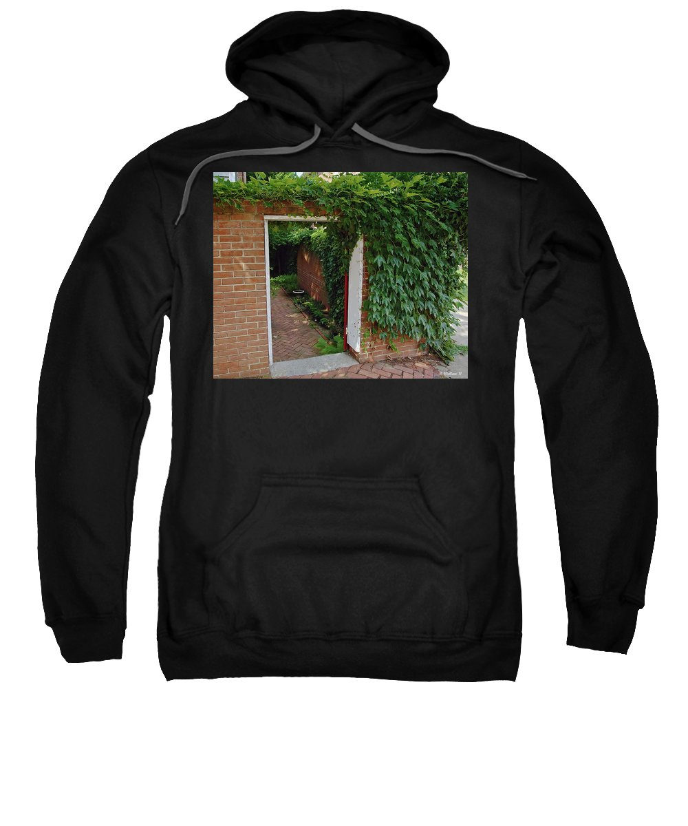 2d Sweatshirt featuring the photograph Hidden Sanctuary by Brian Wallace