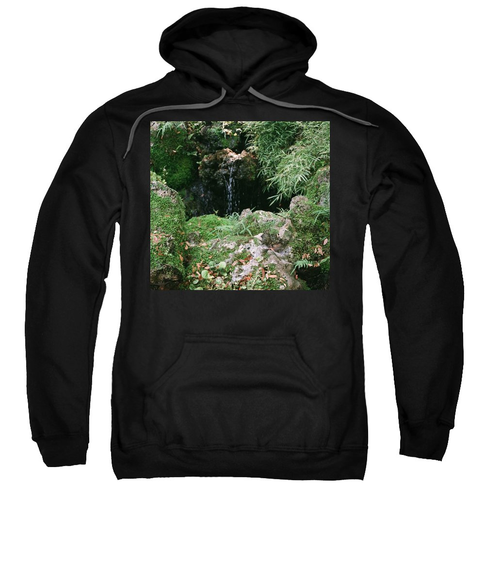 Nature Sweatshirt featuring the photograph Hidden Waterfall by Dean Triolo