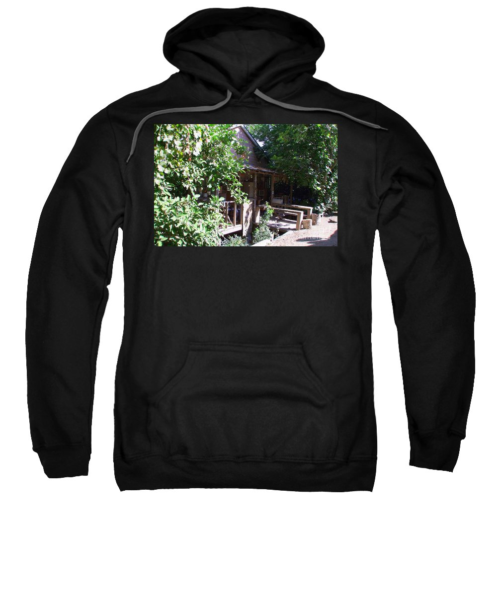 Mary Deal Sweatshirt featuring the photograph Hideaway In Locke by Mary Deal