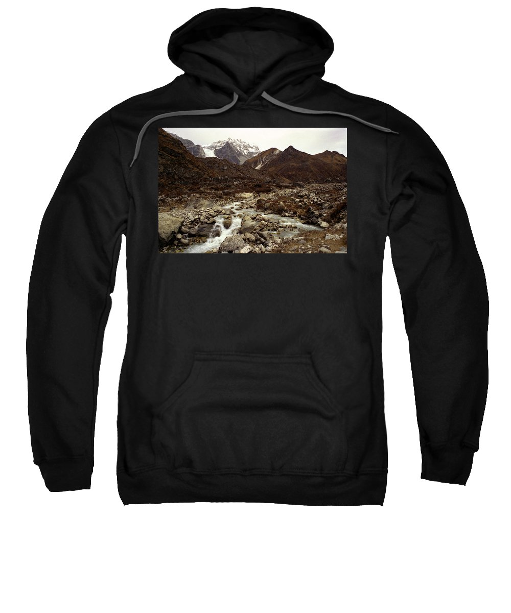 Himalaya Sweatshirt featuring the photograph Himalaya by Patrick Klauss