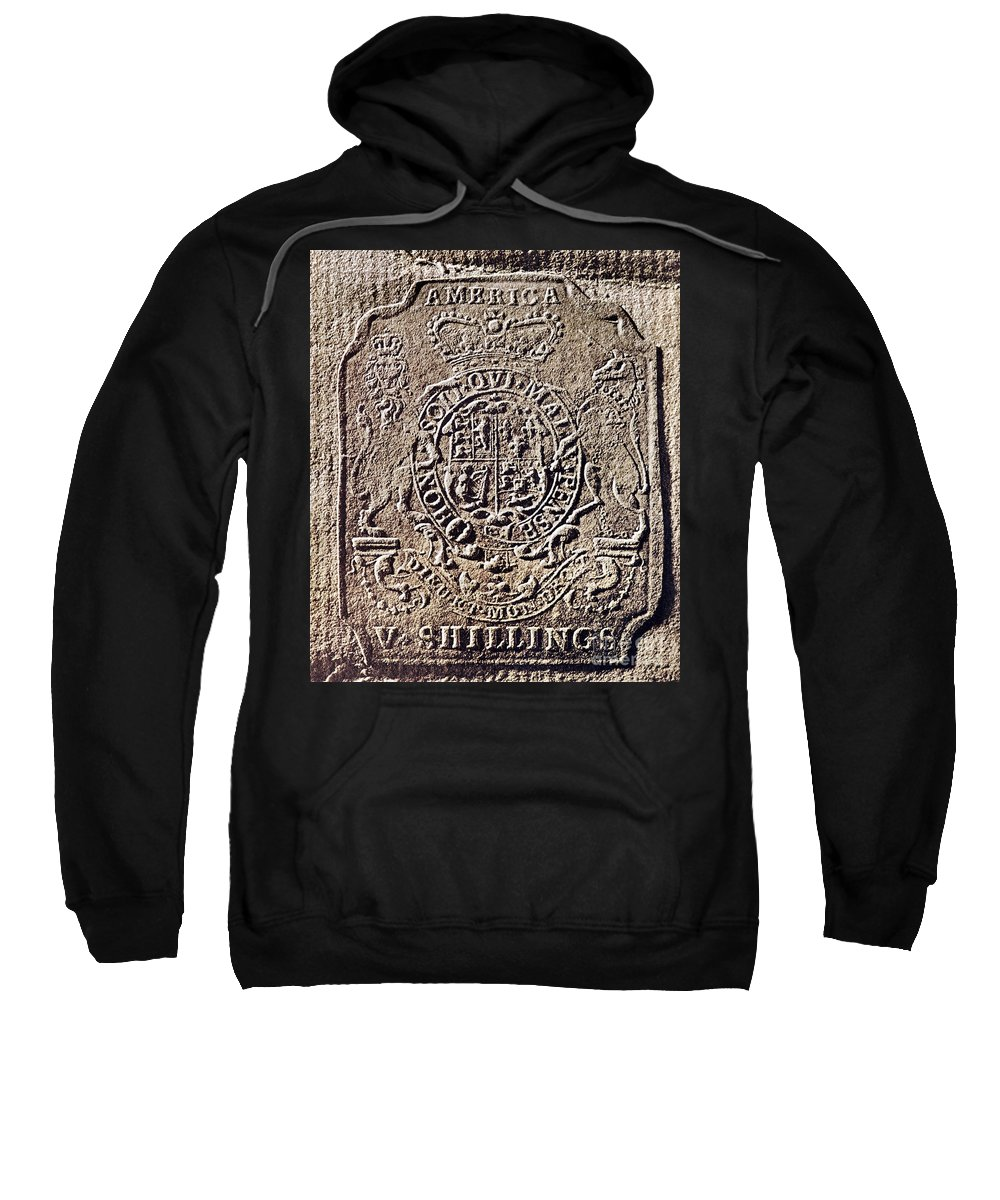 18th Century Sweatshirt featuring the photograph History Of Usa: Stamp Act by Granger