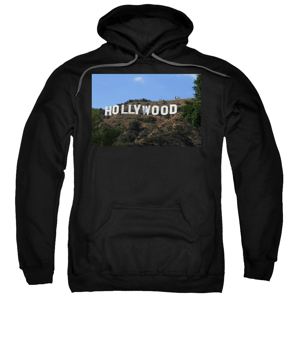 Hollywood Sweatshirt featuring the photograph Hollywood by Marna Edwards Flavell
