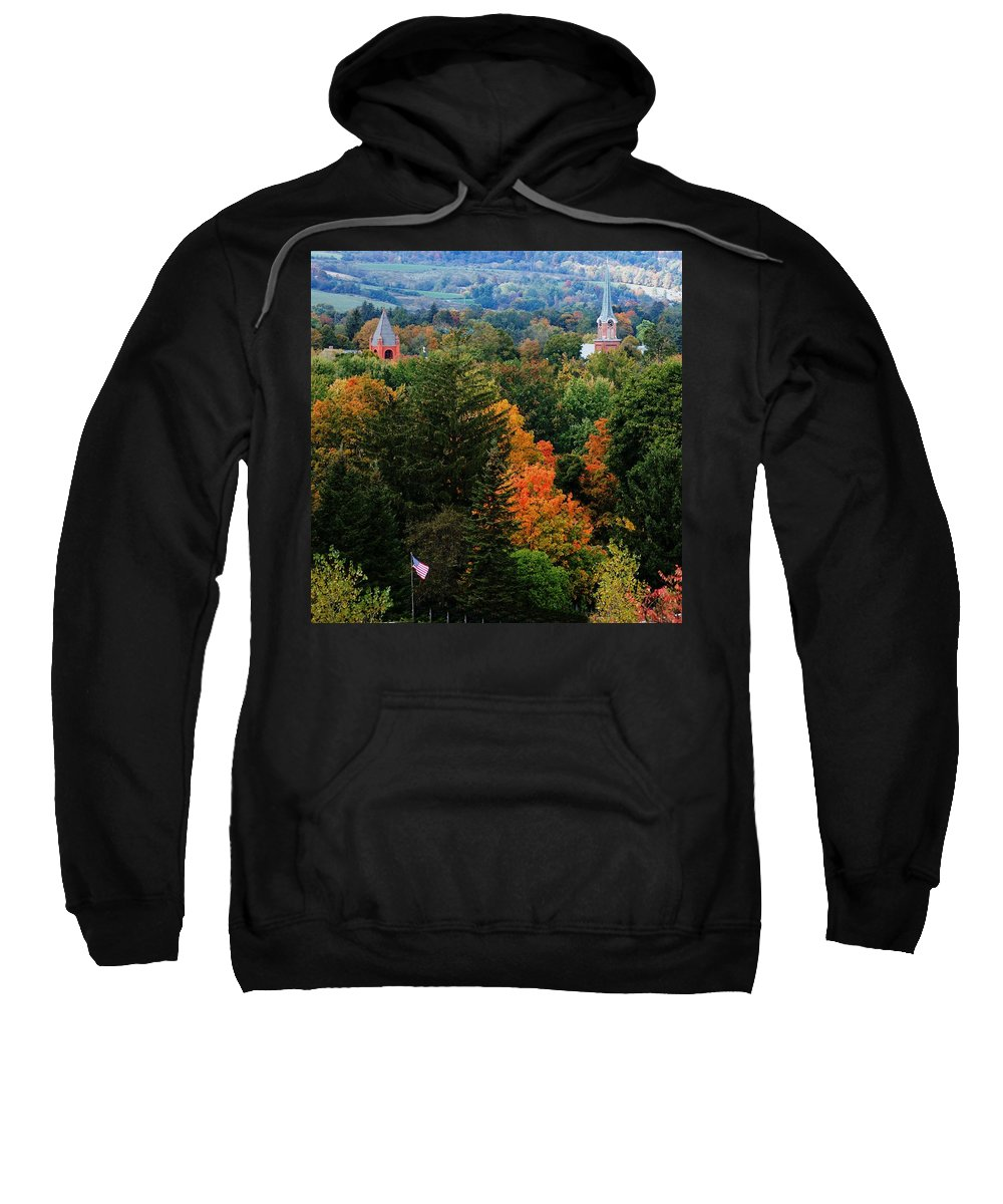 Landscape Sweatshirt featuring the photograph Homer Ny by David Lane