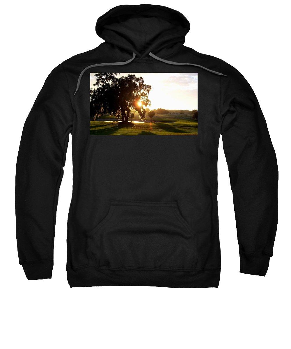 Sunset Sweatshirt featuring the photograph Horse Country Sunset by Kristen Wesch