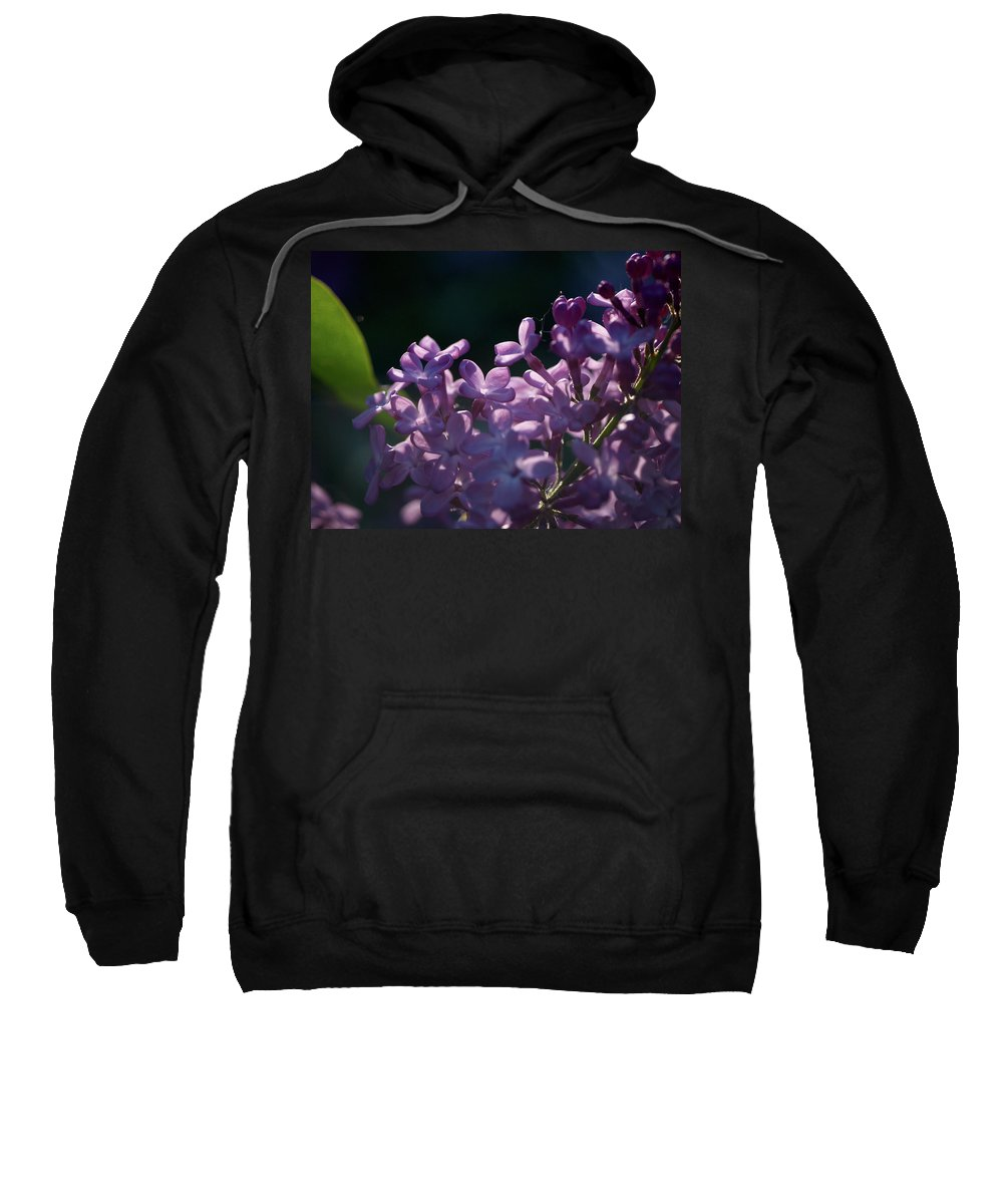 Lehtokukka Sweatshirt featuring the photograph Hungarian Lilac 5 by Jouko Lehto