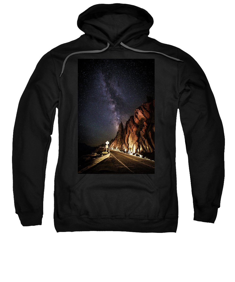 Lake Tahoe Sweatshirt featuring the photograph Hwy 50 by Mario Mariscal