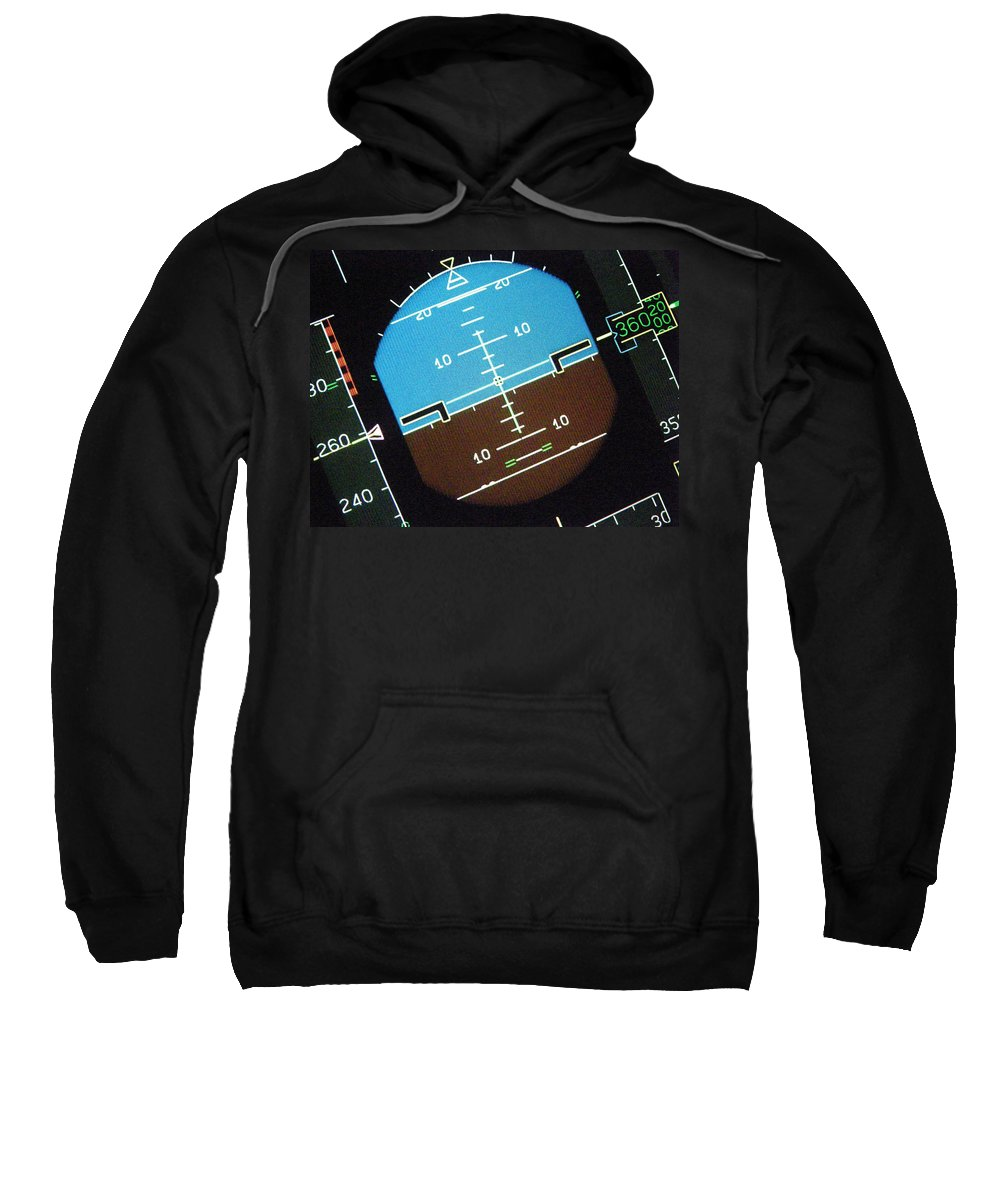 Aviation Art Sweatshirt featuring the photograph I'm So Confused..... by Strato ThreeSIXTYFive