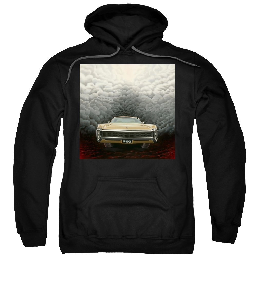 Surreal Sweatshirt featuring the painting Imperial by Patricia Van Lubeck