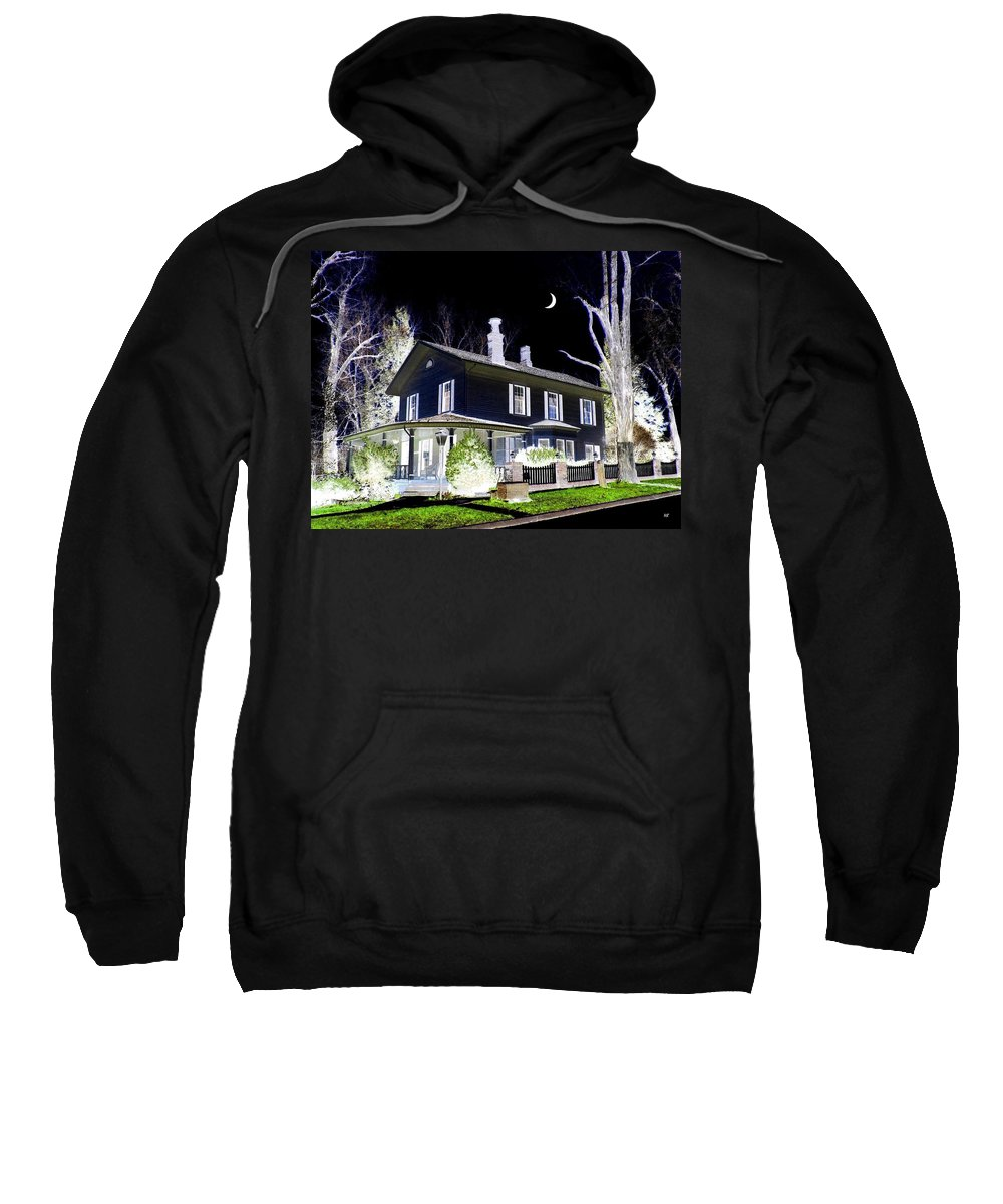 Impressions Sweatshirt featuring the digital art Impressions 5 by Will Borden