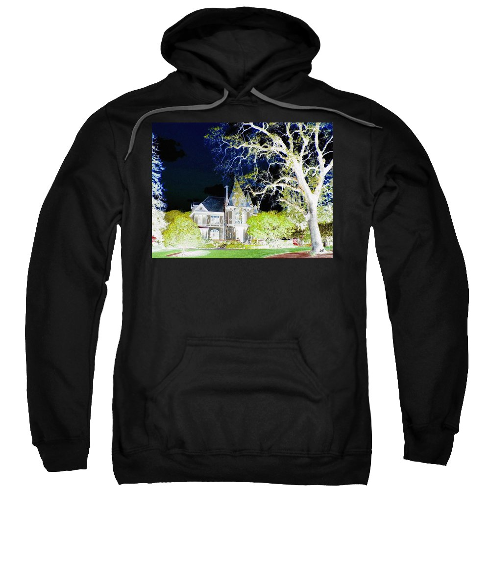 Impressions Sweatshirt featuring the digital art Impressions 9 by Will Borden