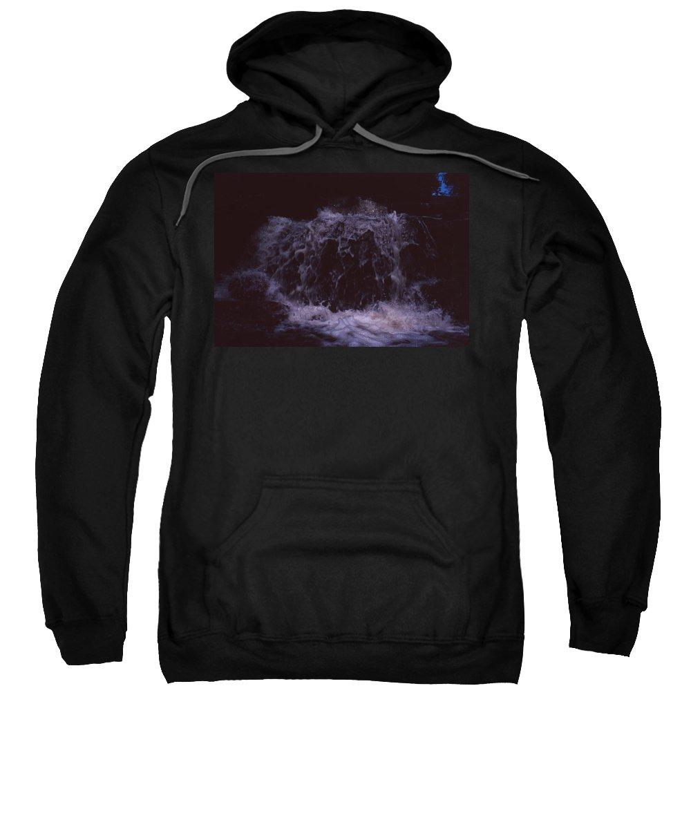Bahia Sweatshirt featuring the photograph In A Bahian Waterfall by Patrick Klauss