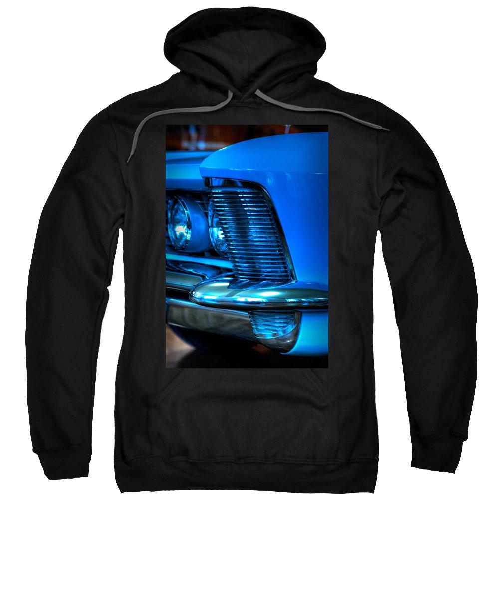 Car Sweatshirt featuring the photograph In A Flash by Scott Wyatt
