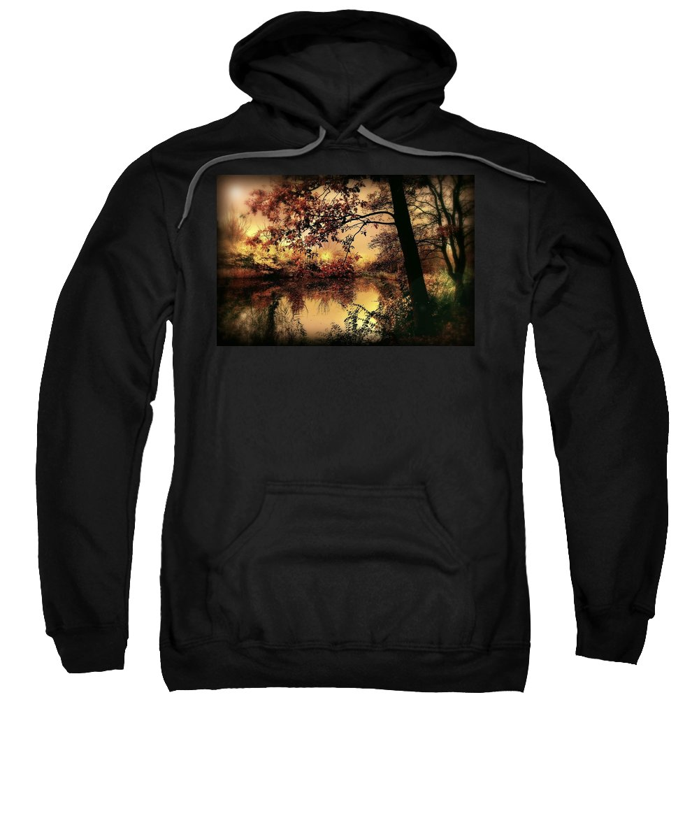 Autumn Sweatshirt featuring the photograph In Dreams by Jacky Gerritsen