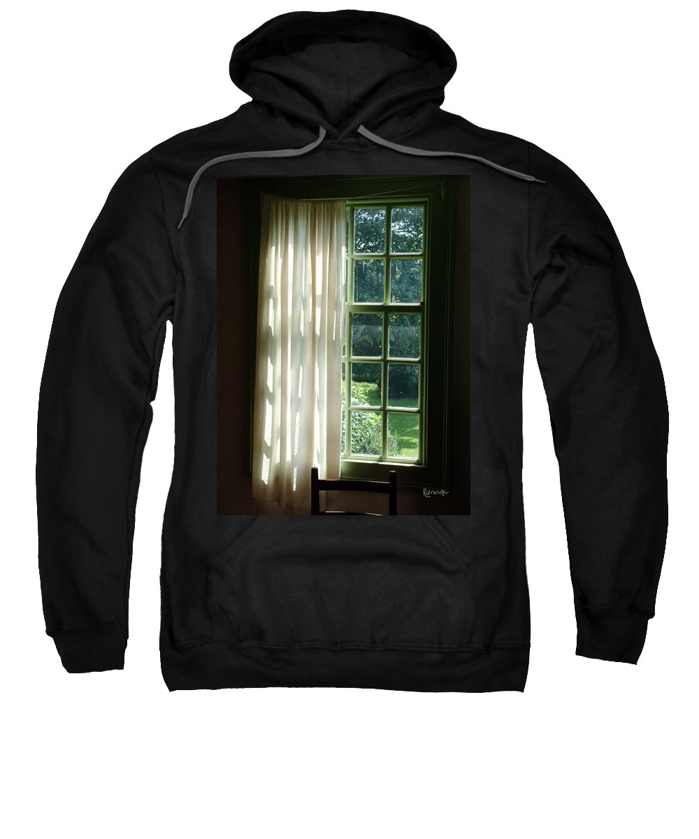 Window Sweatshirt featuring the photograph In The Quiet Of The Afternoon by RC DeWinter