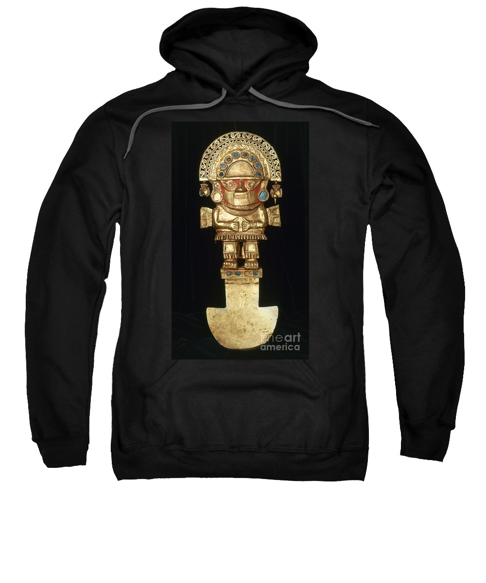 Ancient Sweatshirt featuring the photograph Incan Gold Ornament by Granger