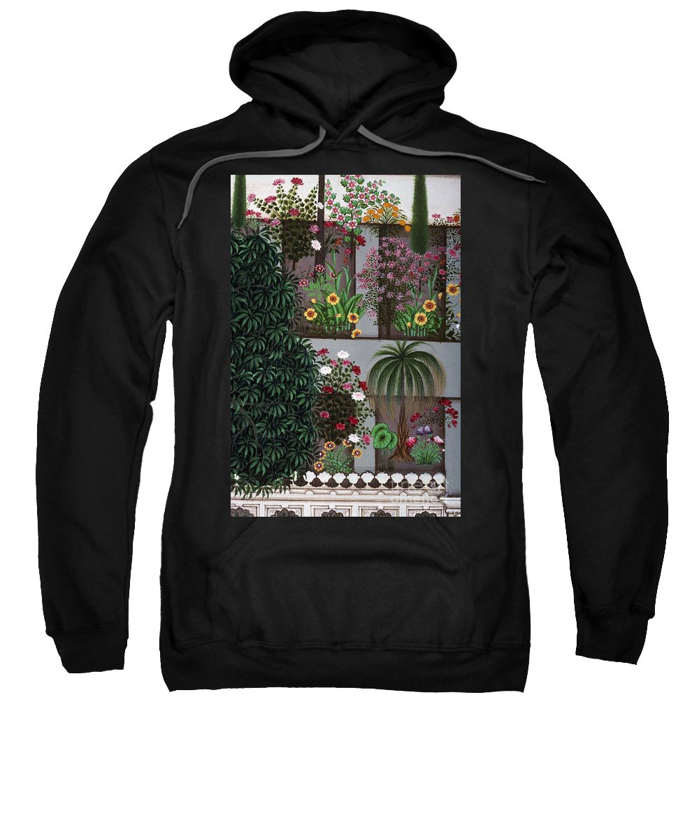 Aod Sweatshirt featuring the photograph India: Garden by Granger